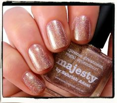 Majesty mani creation by Karine aka Naildarella! WOW totally gorgeous!