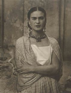 1932, Frida Kahlo, Photo by Guillermo Kahlo, her father.