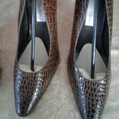 Shoe New alligator  heel Spiegel Shoes Heels