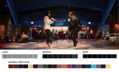 - Popular Films Color Palettes