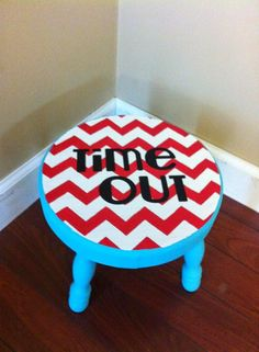 Craft Fabulous: Time Out! Stools