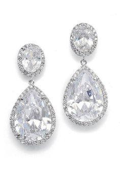 wedding earrings...