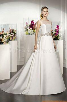 Satén Vestidos de novia 2013