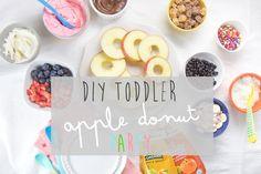 DIY Toddler Apple Donut Party
