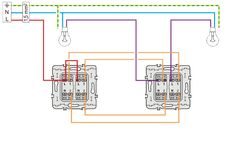 8 Idees De Double Va Et Vient Double Va Et Vient Schema Electrique Branchement Electrique