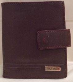 A personal favorite from my Etsy shop https://www.etsy.com/listing/469347960/vintage-brown-leather-nina-ricci-bifold