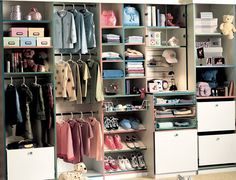 Reach-in Closet | Storage Solutions For Wall Closets