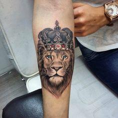 Popular lion tattoo models in 2019 - tattoos for men: best men tattoo . - Popular lion tattoo models in 2019 – tattoos for men: best men tattoo model # - Wolf Tattoos, Hand Tattoos, Lion Forearm Tattoos, Lion Head Tattoos, Mens Lion Tattoo, Forarm Tattoos, Body Art Tattoos, Lion Tattoos For Men, Lion Tattoo King