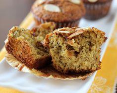 Almond Poppy Seed Muffins {Grain-Free, Paleo} | Meaningful Eats