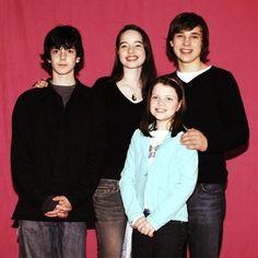 Skander, Anna, Georgie and Will