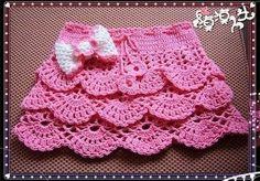 Ravelry: Too Cute Ruffled Skirt pattern by Myra Wood