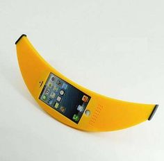 This Banana Phone Case is as Realistic as a Fruit-Mimicking Case Can Get trendhunter.com