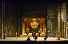 Capriccio from Opéra national de Paris. Production by Robert Carsen. Sets by Michael Levine.