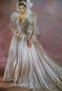 1990s wedding demetrios wedding gowns demetrios wedding for Eva my lady wedding dress