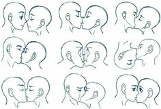 Anime kiss tutorial art reference the kiss anime couple drawing tutorial Drawing Reference Poses, Drawing Skills, Drawing Techniques, Drawing Tips, Kissing Reference, Drawing Ideas, Drawing Lessons, Anime Drawing Tutorials, Sketch Drawing