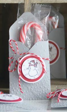 Kreativ mit Liebe!: Verpackung für kleine Zuckerstangen mit dem Envelope Punch…