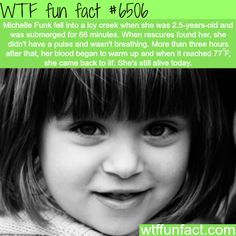 WTF Facts : funny, interesting & weird facts — Michelle Funk - WTF fun facts