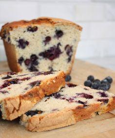 ~blueberry cardamon bread~