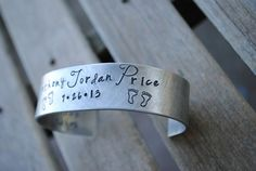 Personalized Mommy Bracelet  Hand Stamped by MelissasMonograms, $18.49