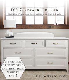 Build a DIY 7 Drawer Dresser ‹ Build Basic