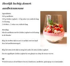 Healthy Snacks, Healthy Recipes, Sweet Desserts, Superfood, Foodies, Fruit, Room, Kitchens, Health Snacks