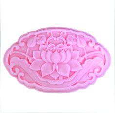 Beautiful Lotus Soap Mold Soap Mould Silicon Mold от soapmoldiy, $7.99