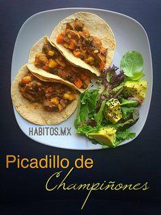 picadillo http://www.habitos.mx/recetas-2/picadillo-de-champinones/