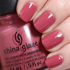 Day 1: @ChinaGlaze in Fifth Avenue. Swatch by @alllacqueredup. #sallybeautychallenge