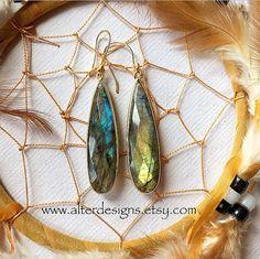 Coachella Earrings Boho Earrings Wanderlust by alterdesigns