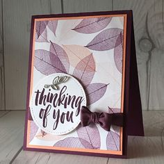 Stampin' Up! Rooted in Nature stamp set, part of the Nature's Poem Suite
