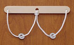 String and Ring Puzzle