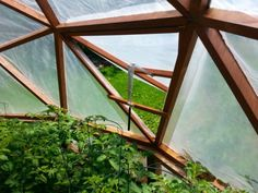 Our Geodesic Dome Greenhouse�s New Home Best Greenhouse, Greenhouse Gardening, Greenhouse Plans, Retreat House, Geodesic Dome Homes, Geodesic Dome Greenhouse, Victorian Greenhouses, Dome House, Earthship