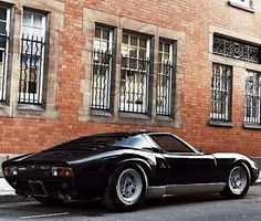 Miura. Such a beautiful design. Lamborgini - a company born out of a disagreement with Enzo Ferrari. Great story.