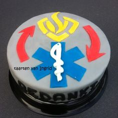 Taart brandweer / ambulance