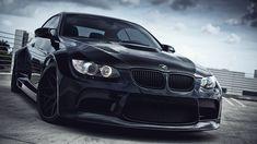 Black BMW M3 HD Widescreen Wallpapers Car