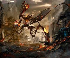 Demon lord, Vadim Sverdlov on ArtStation at http://www.artstation.com/artwork/demon-lord-cfae6d86-7992-46fc-95a4-bcfd3b8e9cfa