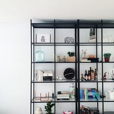 Vitsjö IKEA from floor to ceiling. DIY project Instagram photo by @everdje via ink361.com