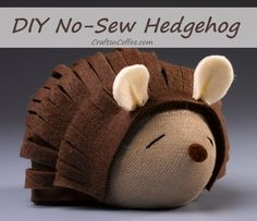 You don't need anything fancy to make this delightful Sleepy Hedgehog, and the supply list is refreshingly short. Designer Debra Quartermain starts with a sock and a foam egg, adds some felt, and e…