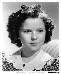 shirley temple - this is what a child star should be like.  We will miss you Shirley.