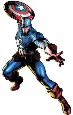 captain america  | Captain America - Marvel vs. Capcom Wiki