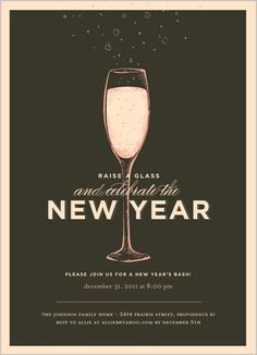 new years invitation love the wording we could definitely re work it for
