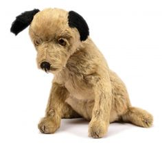Jointed Neck Beneficial To The Sperm Rare Vintage Antique Old Steiff Mohair Beige Standing Bear Toy Dolls & Bears
