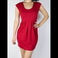 ⚡️WEEKEND SALE⚡️UO Kimchi Blue Red Dress This Kimchi Blue dress from OU is the perfect fit for any outfit. The cut is so form fitting but not compromising in any way. Worn once. Urban Outfitters Dresses Mini