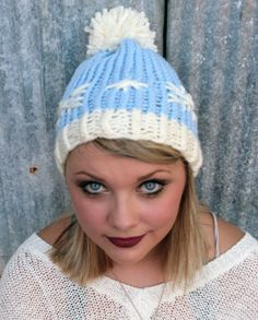 The Winter Wonderland Dive into your very own Winter Wonderland with this snowflake beanie hat. $49.99