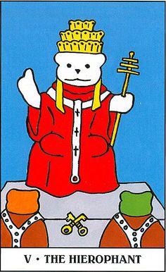 The Hierophant - Gummy Bear Tarot