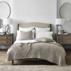 The White Company Master Bedroom Design, Bedroom Inspo, Home Bedroom, Bedroom Ideas, Linen Bedroom, Bed Ideas, Bedroom Inspiration, Bed Linen, Decor Ideas