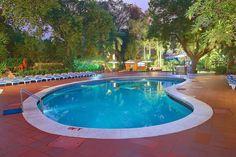 Our pristine swimming pool.