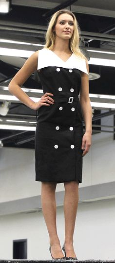 McCall's M7087 Archive Collection sewing dress pattern. As seen at 2015 Sewing & Stitchery Expo.