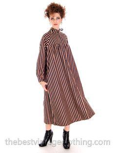 Mod Vintage Vuokko Dress 1970s Designer Cotton by BestVintageEver