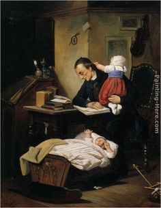 Theodor Alexander Weber The Busy Father